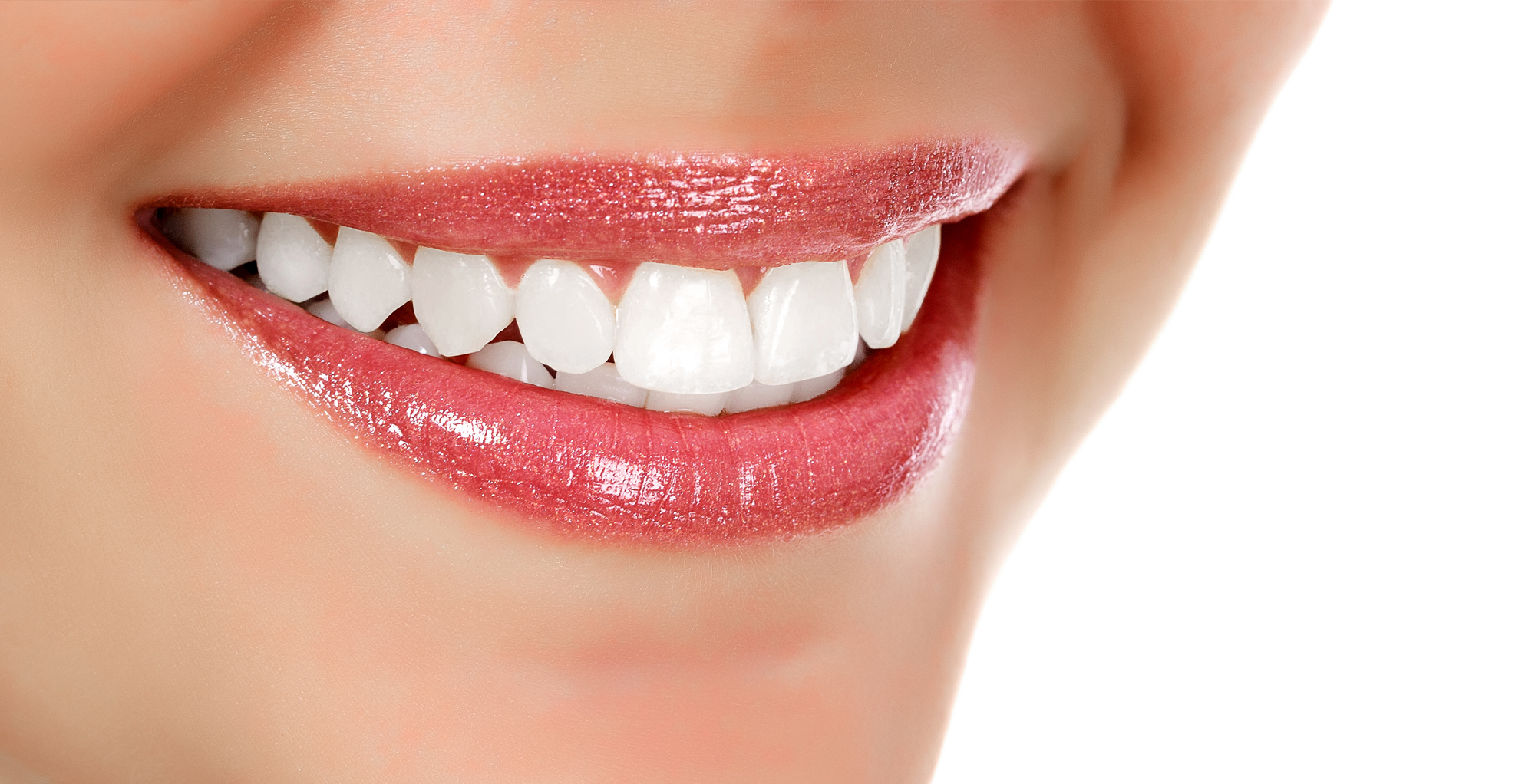 woman with a beautiful healthy smile
