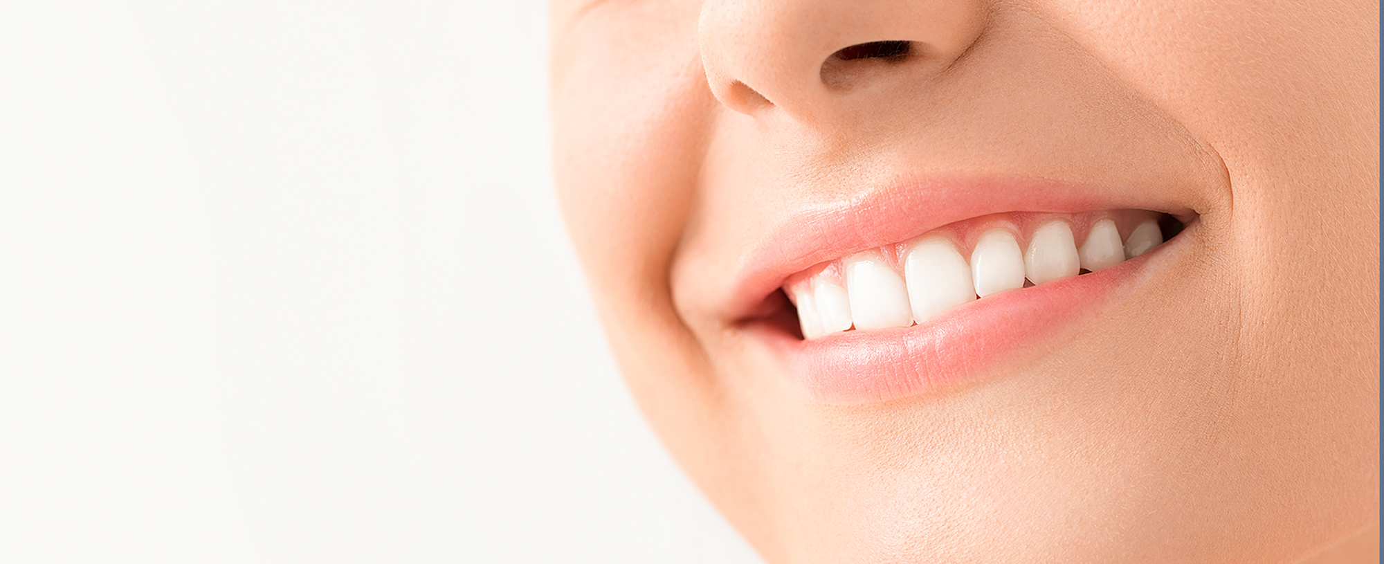 woman with healthy smile after digital smile design